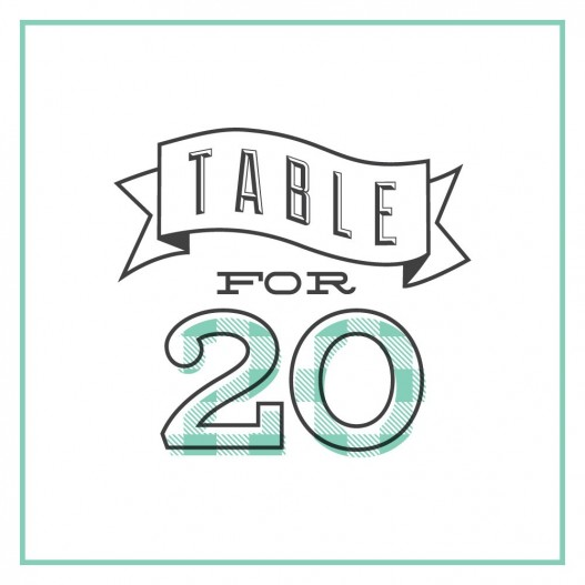Table for 20