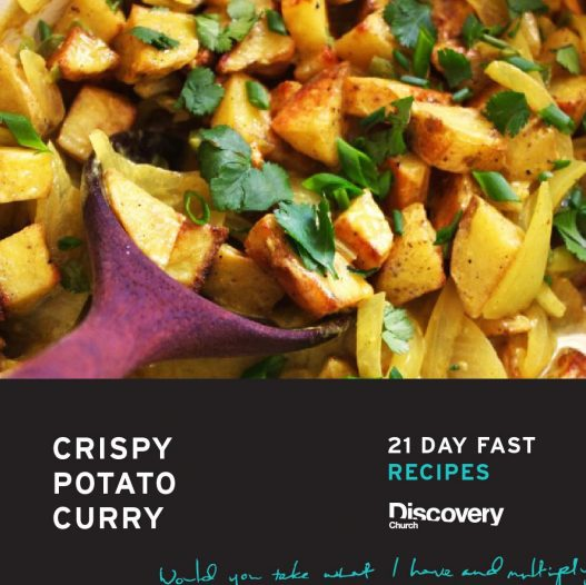 Crispy Curried New Potatoes Recipe — Dishmaps